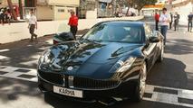 Fisker Karma debuts in Monaco during Gran Prix