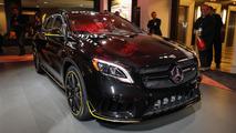 Détroit 2017 - Le Mercedes-AMG GLA 45 passe par la case restylage
