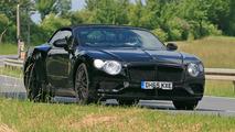 Bentley Continental GT Convertible spy photo