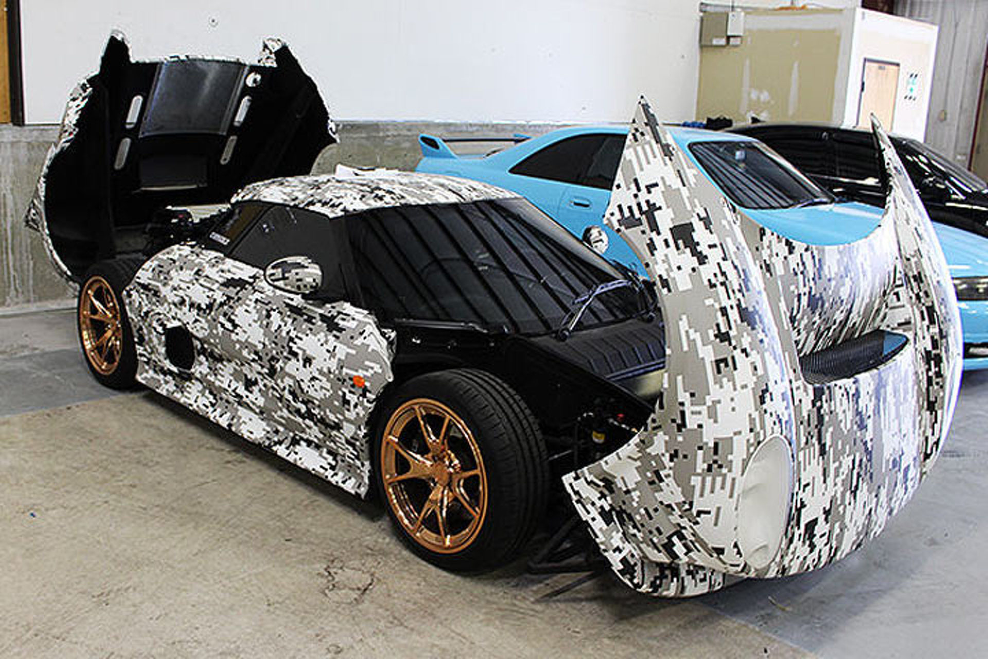 Can You Spot the 425-Horsepower British Sports Car?