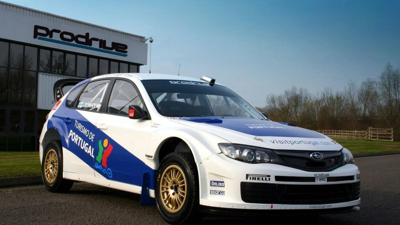 Marcus Gronholm Prodrive Impreza WRC2008
