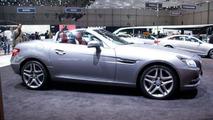 2012 Mercedes-Benz SLK 350 BlueEfficiency live in Geneva - 03.03.2011