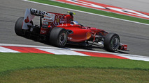 Reporter spots new diffuser on Ferrari's F10