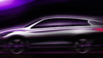 2013 Infiniti JX crossover set for Spring 2012 release