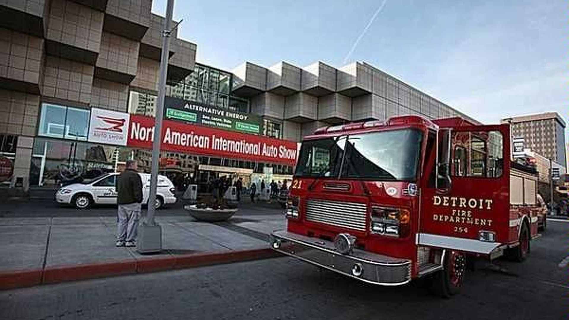 Detroit Auto Show Fire Given the All Clear After Evacuation