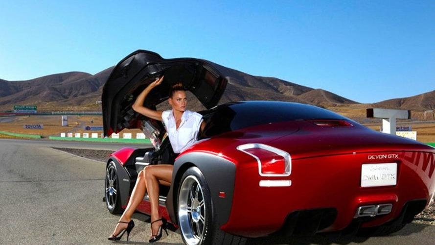 Devon GTX Sets One-Lap Record at Laguna Seca