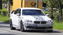 2012 BMW M5 F10 spy photo