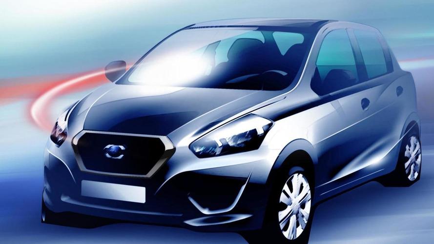 Resurrected Datsun teases first model