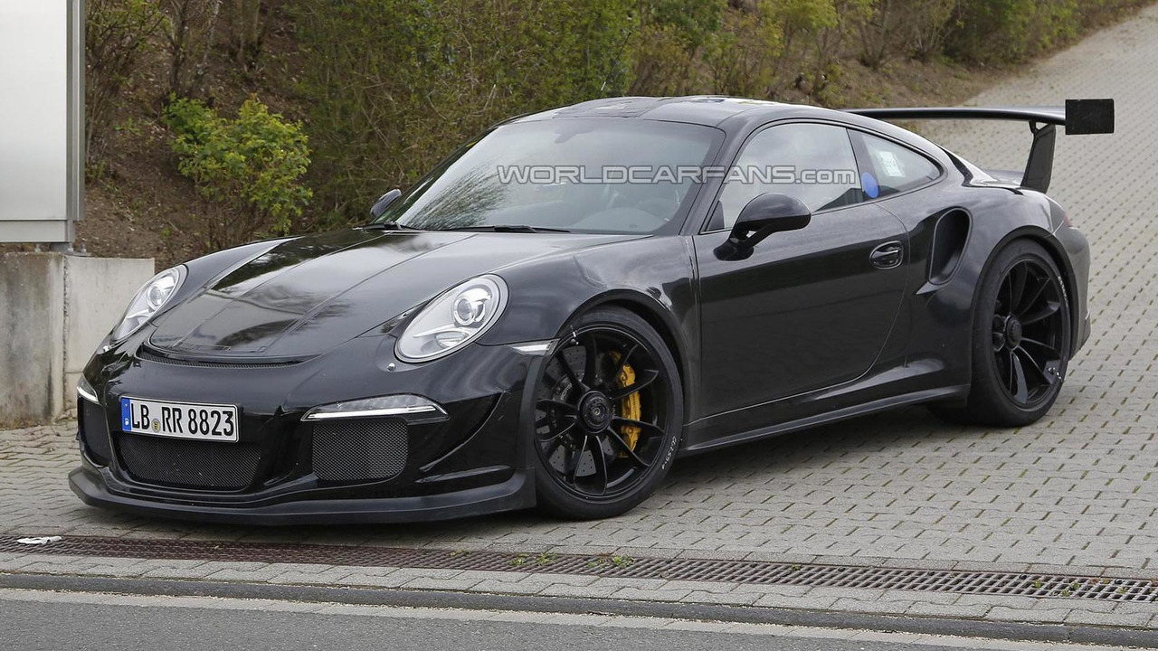 2011 Porsche 911 GT3 RS spy photo