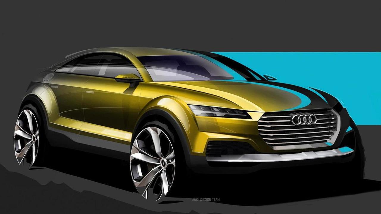 Audi Q4 concept design sketch