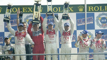 Audi Team celebrating their victory