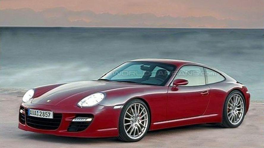 SPY PHOTOS: Porsche's New GT Coupe