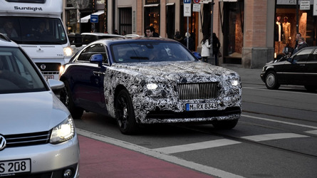 Rolls-Royce preparing a facelift for the Wraith