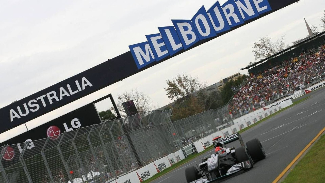Michael Schumacher (GER), Mercedes GP, Australian Grand Prix, 27.03.2010 Melbourne, Australia