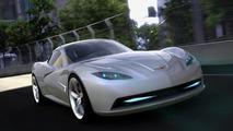 Corvette C7 rendering - 1.3.2011