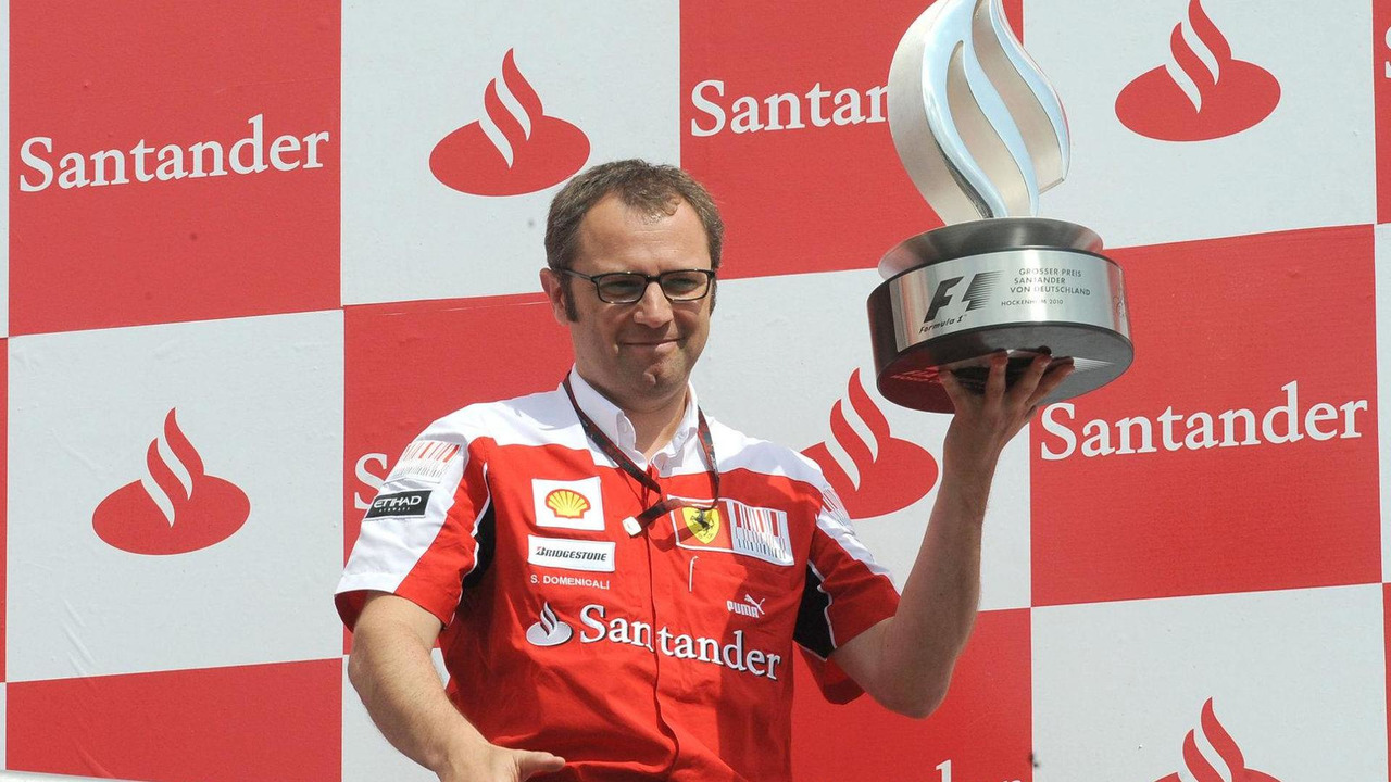Stefano Domenicali (ITA) Ferrari General Director - Formula 1 World Championship, Rd 14, Italian Grand Prix, Sunday Podium, 12.09.2010 Monza, Italy