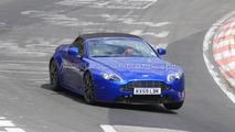 2011 Aston Martin Vantage Roadster facelift spied at Nurburgring