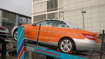 2010 Mercedes E-Class Cabrio on Delivery Truck