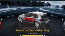 All-new Volkswagen 2010 GTI Launches Through Real Racing GTI App - screenshot