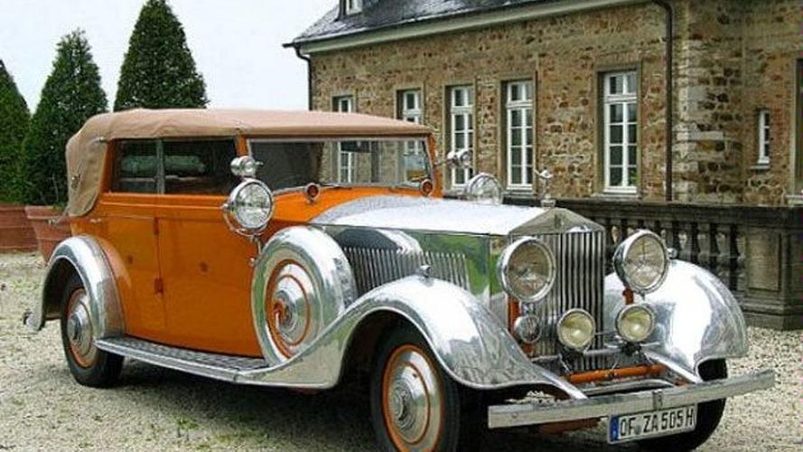 "Rolls Royce Phantom II ""Star of India"" for sale for 8 million pounds"