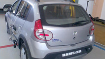 Dacia Hamster electric 4WD hybrid photos surface
