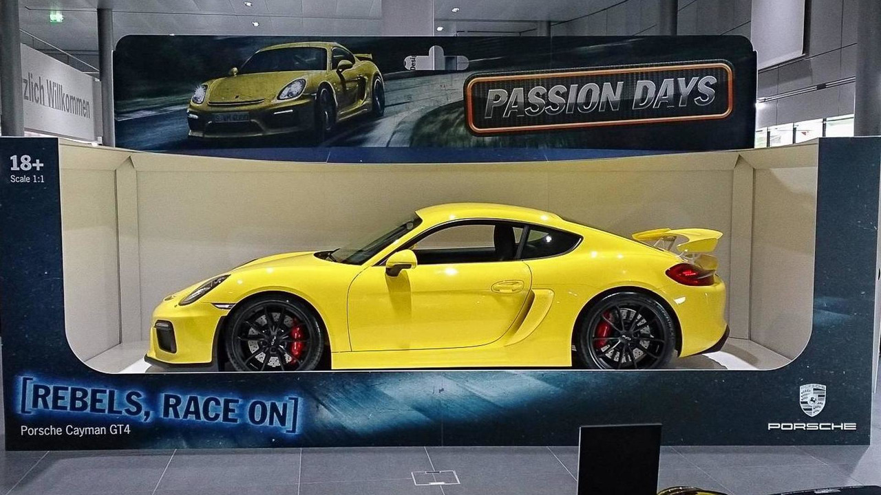 Porsche Cayman GT4 full-size toy car
