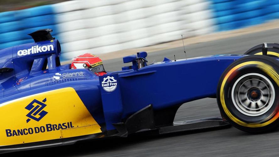 Nasr plays down Sauber's top test pace