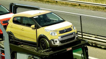 Citroen C1 Urban Ride spotted on a trailer, likely going on sale soon