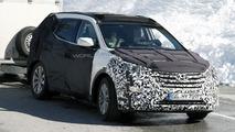 2013 Hyundai Santa Fe (ix45) spied in the Alps