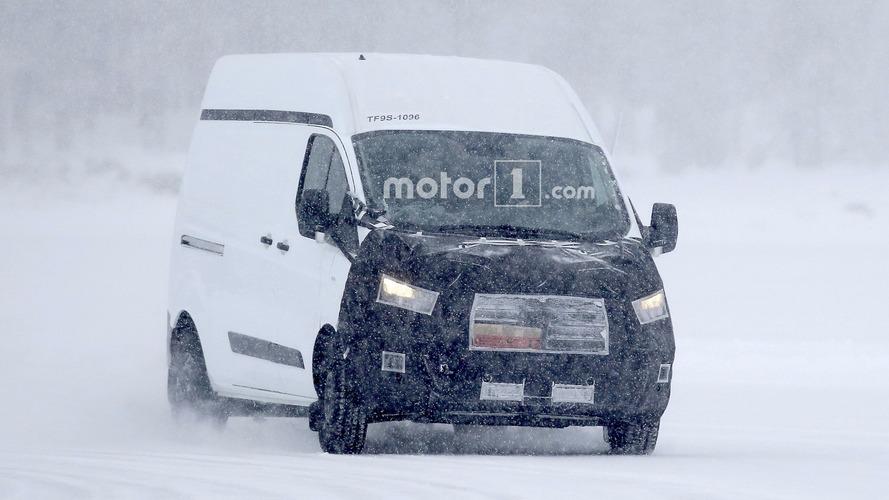Ford Transit Custom spy photos