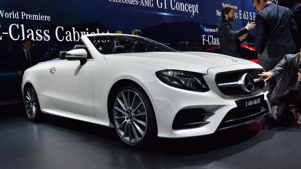 2018 Mercedes E Class Cabriolet Go On Take Your Top Off