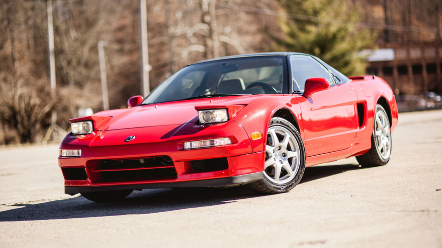 Buy this supercharged Acura NSX coupe, one of just 17