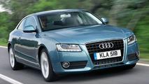 Audi A5 Gets All-New 1.8 Turbo FSI Engine (UK)