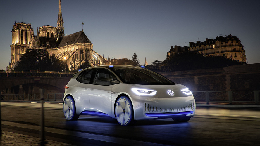 VW I.D concept looks to the future with 326-mile EV range