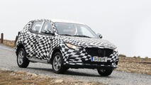 MG ZS Spy Photos in Alps