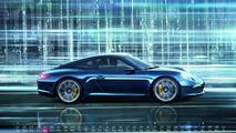 Porsche Calendar: Mega City 2013 launched