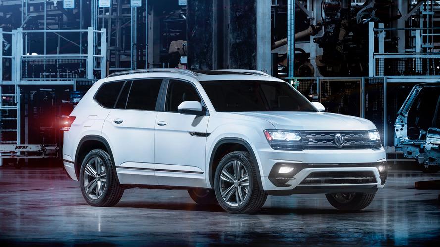 Volkswagen Atlas gets the R-Line treatment