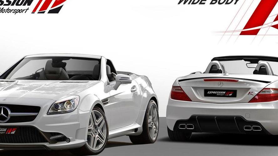 Expression Motorsport introduces a wide body kit for the Mercedes SLK [video]