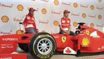 Ferrari F1 lego car presented in Melbourne