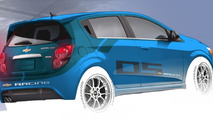 Chevrolet Sonic B-Spec race car concept