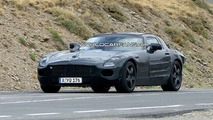 Mercedes Gullwing spy photo