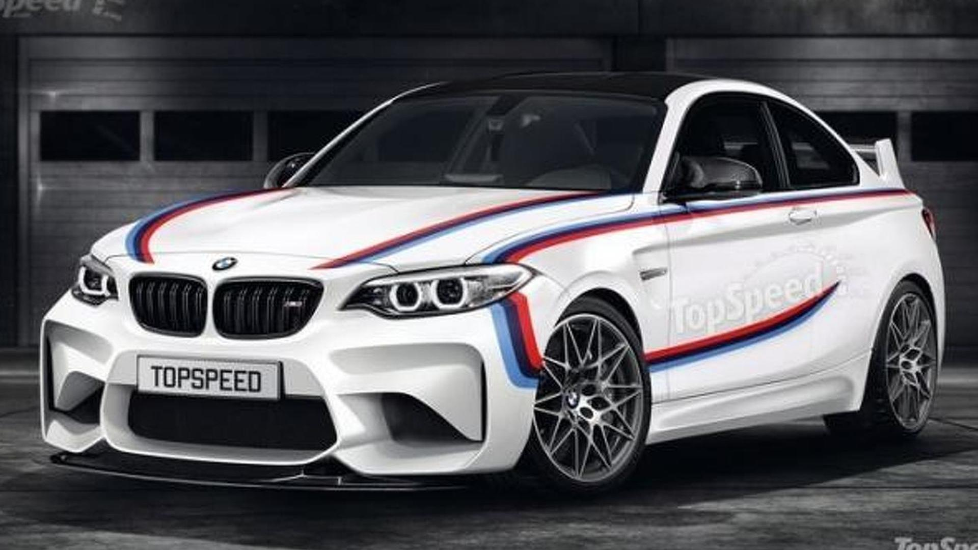 Rumored 2016 BMW M2 CSL speculatively rendered