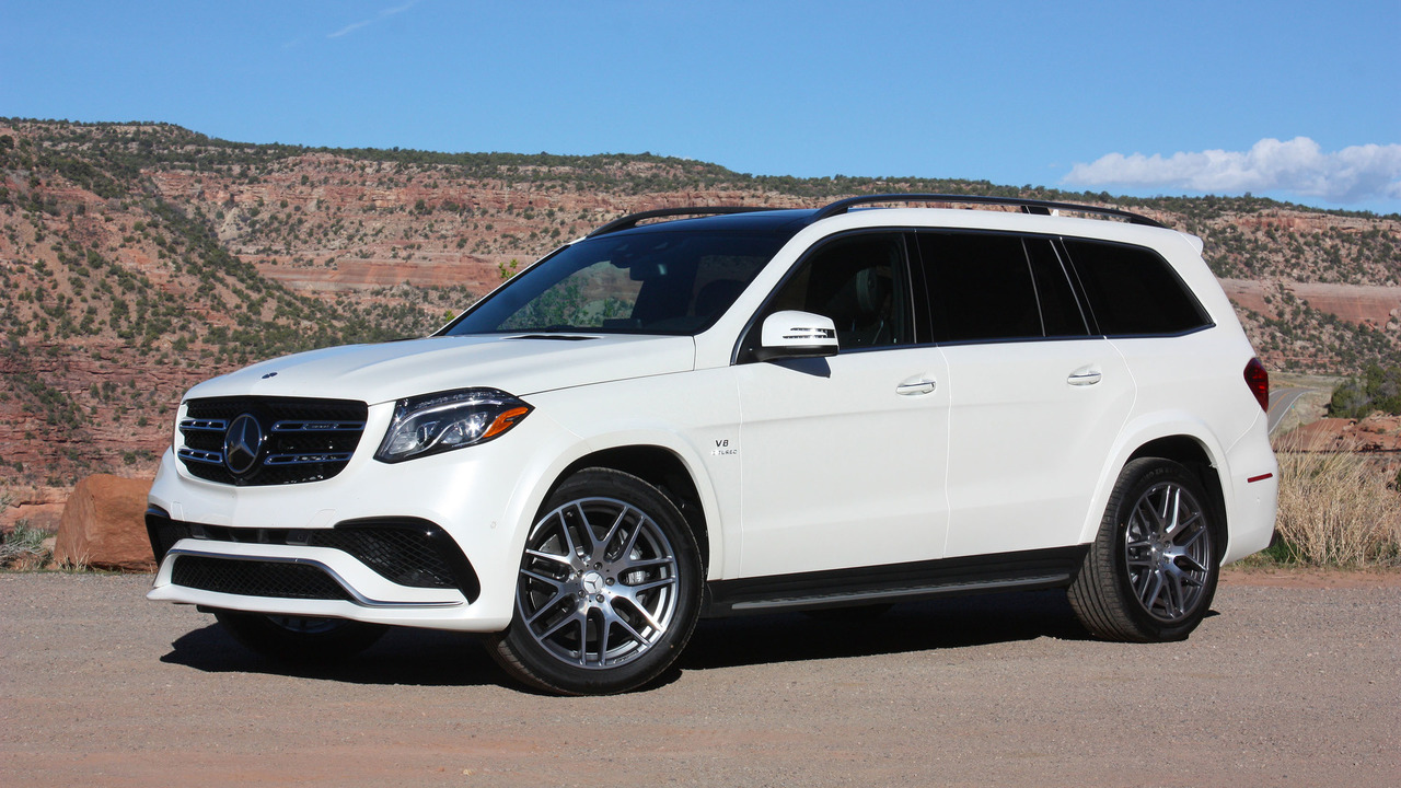 2017 Ford Escape Towing Capacity >> Review: 2017 Mercedes-AMG GLS63