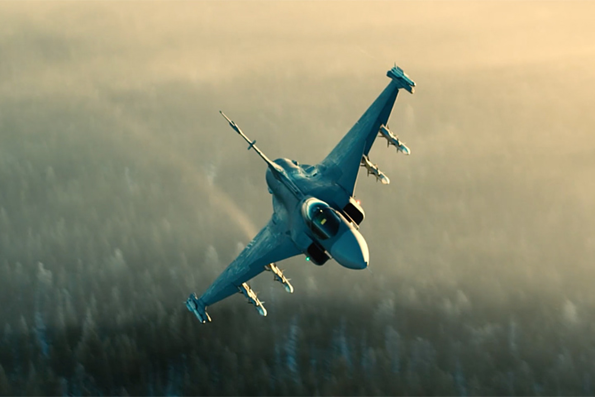You've Never Seen a Saab Fighter Jet Quite Like This Before