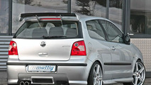 Mattig presents various styling components for the VW Polo 9N