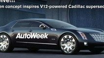 GM Might Build Cadillac V12 Super Sedan
