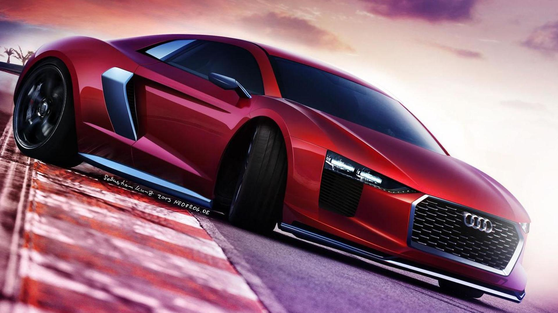 Audi technical chief says next-gen R8 will eventually receive a smaller turbocharged engine