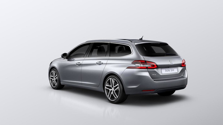 2014 Peugeot 308 SW announced with 610-liter cargo capacity