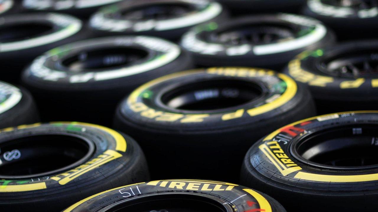 Pirelli tyres 04.07.2013 German Grand Prix