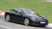 2013 Porsche Panamera facelift spied with new details